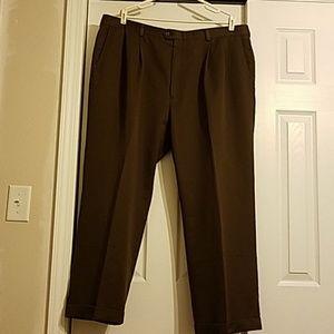 Men's  brown haggar slacks